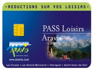 """Pass Loisirs Aravis"" (Freizeitkarte)"