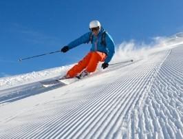 Alpine Ski Area Map