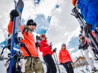Ski gear rental