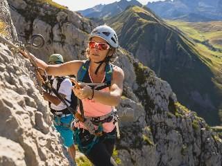 Canyoning, Rafting, Klettern, Klettersteig