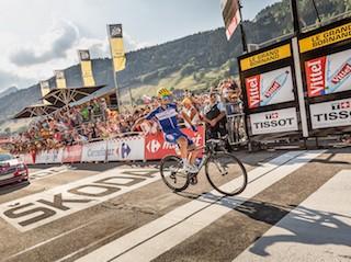 Arrivée du Tour de France 2021