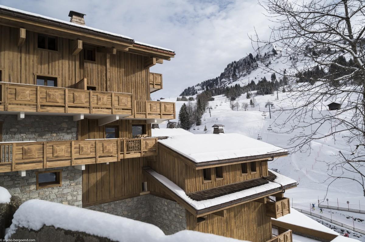 3 pièces en résidence pied des pistes grand-bornand chinaillon location ski montagne