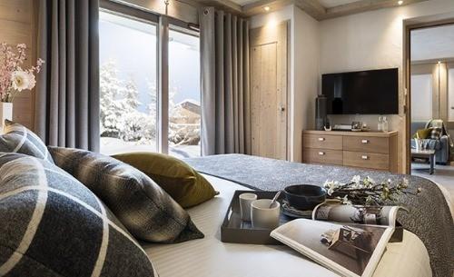 4 pièces en résidence pied des pistes grand-bornand chinaillon location ski montagne
