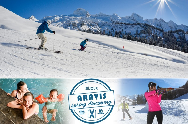 e92bdfea13f 6 days Aravis Spring discovery Pack   ski