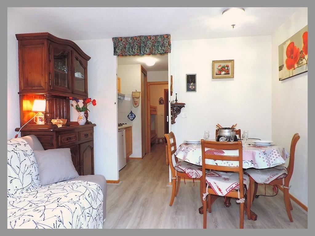 chateau  studio 4 personnes le grand bornand village