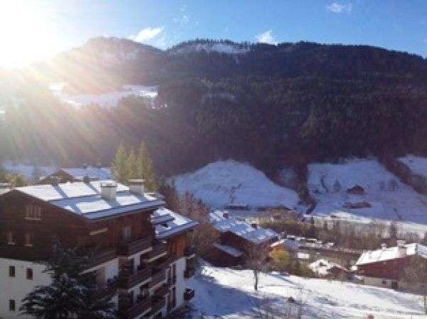location studio coin montagne millepertuis le grand bornand village