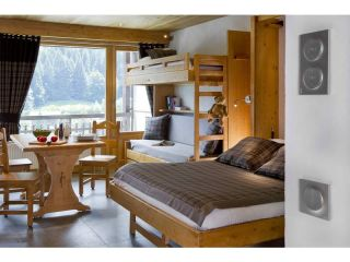 Studio 3/4 pers center of village balcony and mountain view-Studio 3/4 pers 7 nights  with half board pension