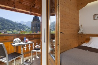 DOUBLE ROOM WITH BALCONY AND MOUNTAIN VIEW-rack rate