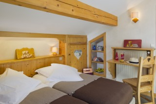 Attic double room with  balcony and mountain view-rack rate