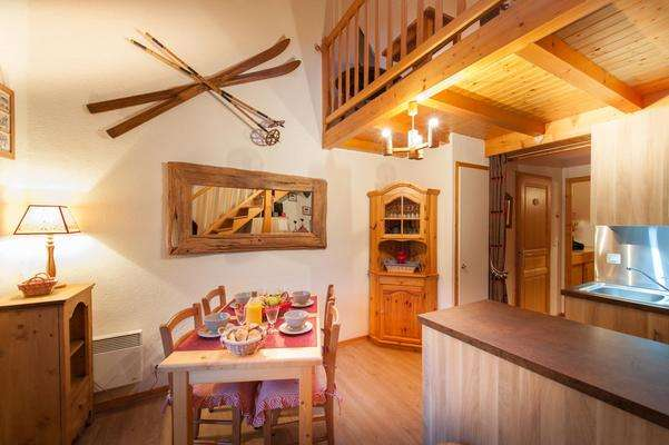 location appartement 2 pièces duplex Château le Grand Bornand village