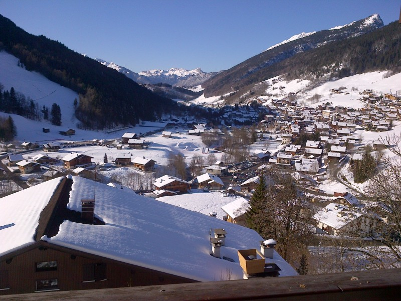 appartement belvedere location ski montagne grand bornand village