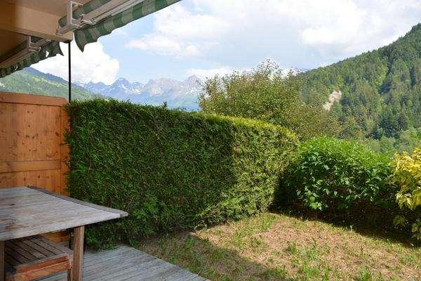 appartement pointe de chombas 2 pieces location ski montagne grand bornand village