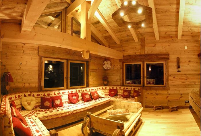 chalet de mano 7 pieces 15 personnes au village grand bornand
