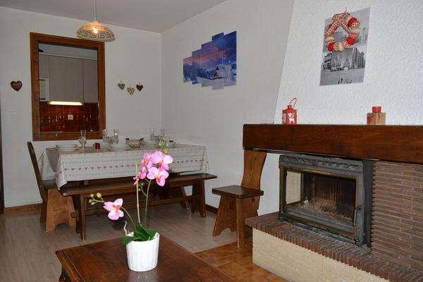 location appartement 2 pieces mezzanine charme le grand bornand village