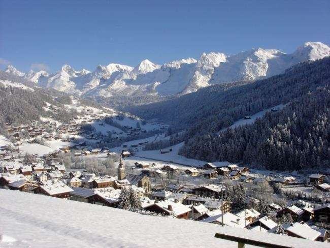 location appartement studio chateau le grand bornand village