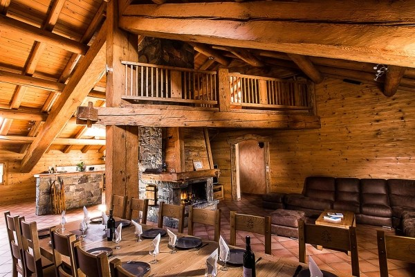 location chalet snowbaur partie haute grand bornand village