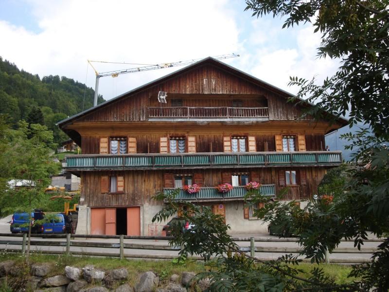 location le pont de suize le grand bornand village studio 4 personnes